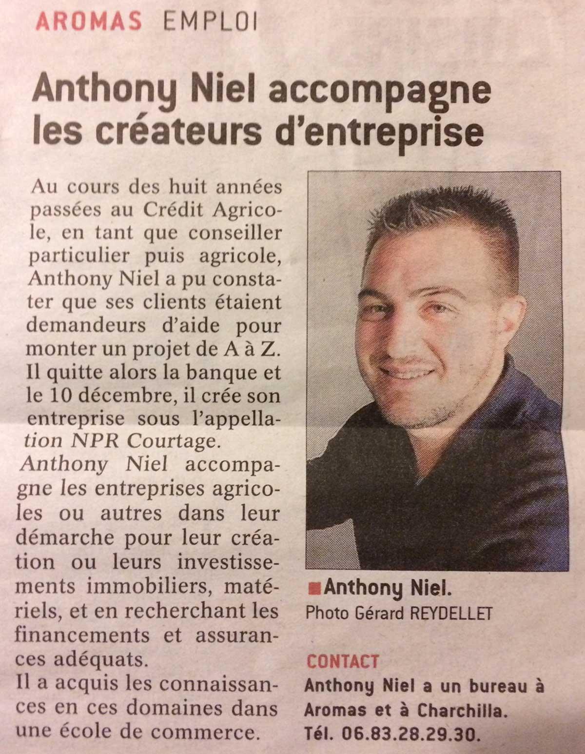 """NPR dans """"Le PROGRES"""""""